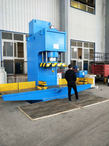 Single Column Hydraulic Press with Extension Table (Y41-315)
