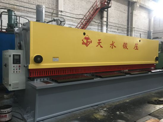 Hydraulic Guillotine Plate Shearing Machine (QC11Y-8X4000)