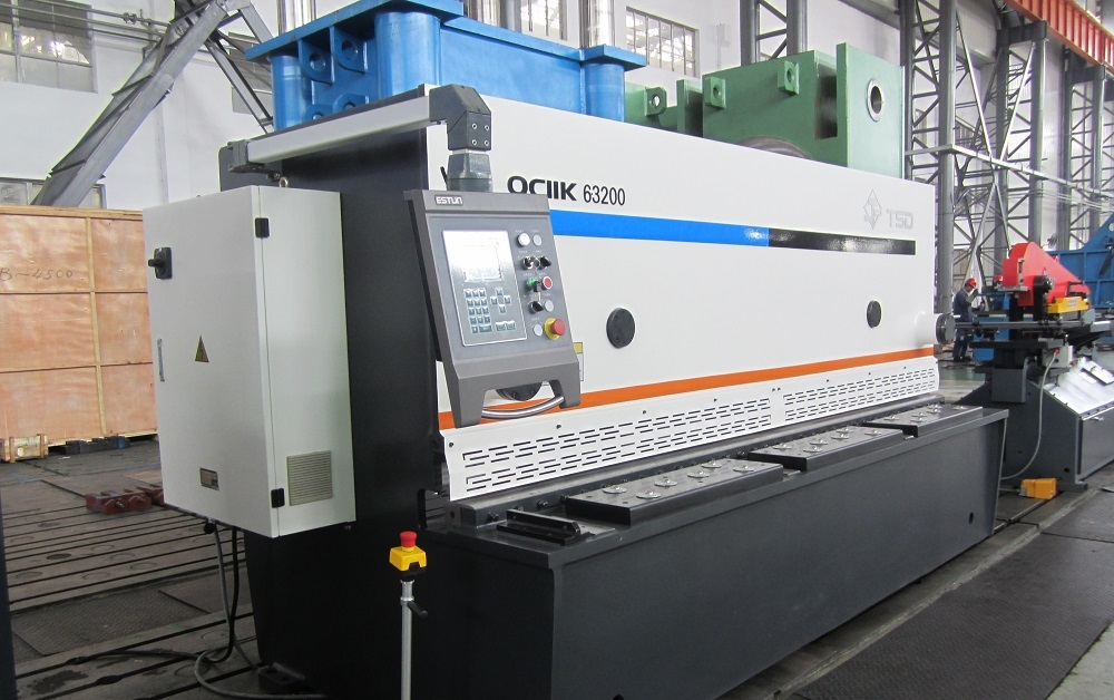 3200mm Hydraulic Guillotine Shear Machine (QC11Y-6X3200)